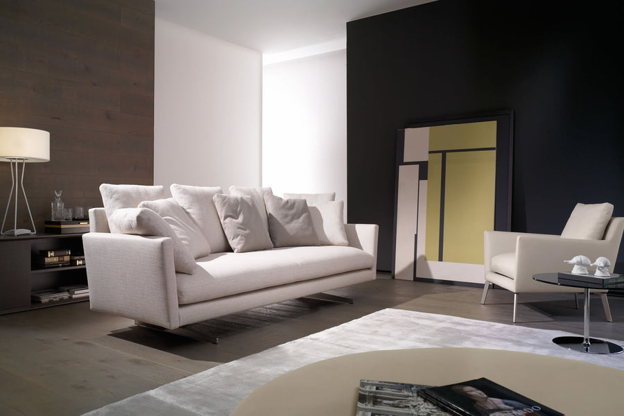 Casadesus Menfis Sofa, ambient - made in Spain - Spencer Interiors