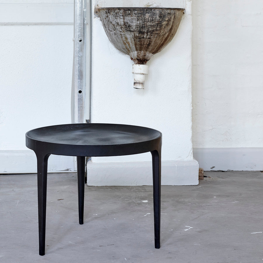 Norr11 Denmark, Ghost Table in Cast Aluminum, ambient industrial | Spencer Interiors