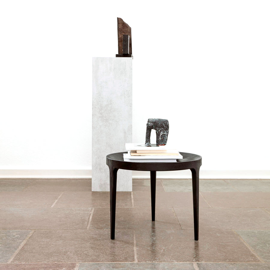 Norr11 Denmark, Ghost Table in Cast Aluminum , ambient | Spencer Interiors