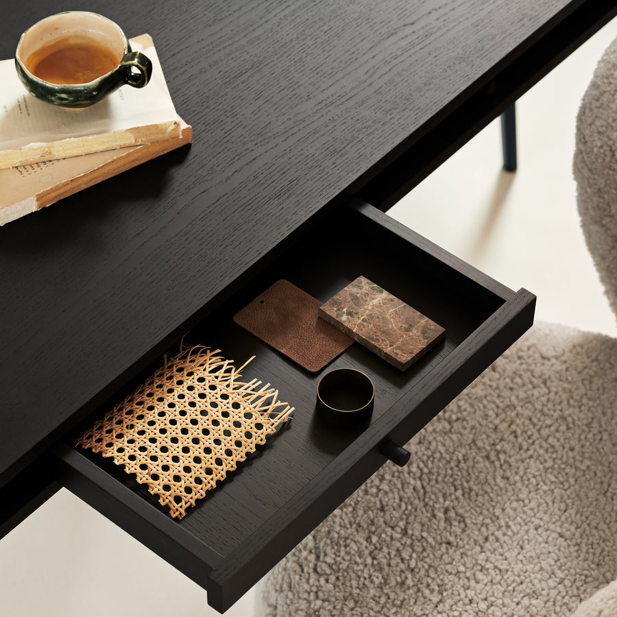 Norr11 Denmark, The Retro Cool JFK Desk, drawer detail | Spencer Interiors