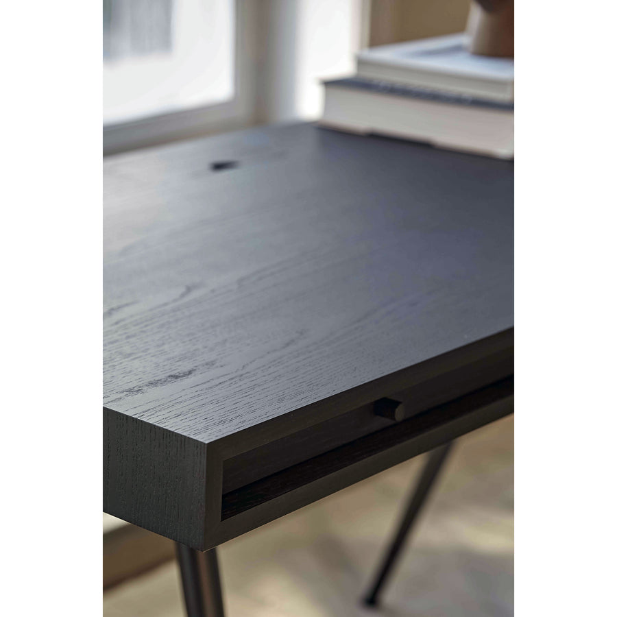 Norr11 Denmark, The Retro Cool JFK Desk , Black Ash drawer | Spencer Interiors