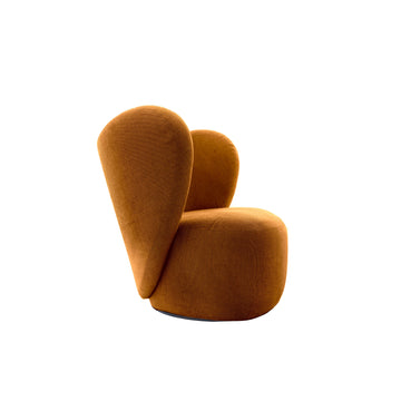 Norr11 Denmark, The Little Big Swivel Chair, profile | Spencer Interiors