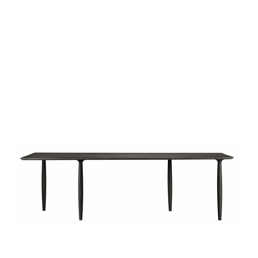 Norr11 Denmark, Oku Modern Dining Table in Black Oak | Spencer Interiors