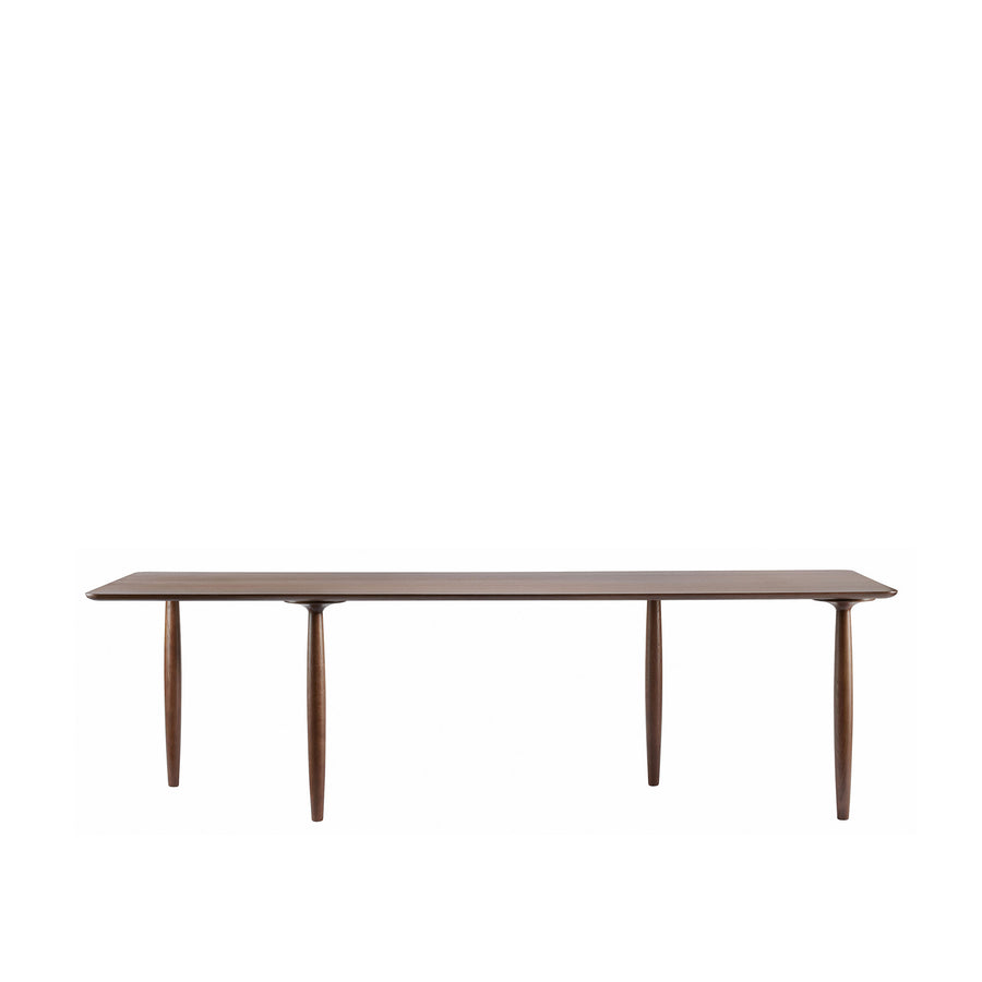 Norr11 Denmark, Oku Modern Dining Table in Dark Stained Oak