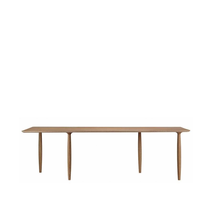Norr11 Denmark, Oku Modern Dining Table in Smoked Oak | Spencer Interiors