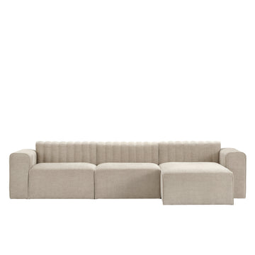 Norr11 Denmark, Riff Sectional, Sand Linen, made in Italy | Spencer Interiors
