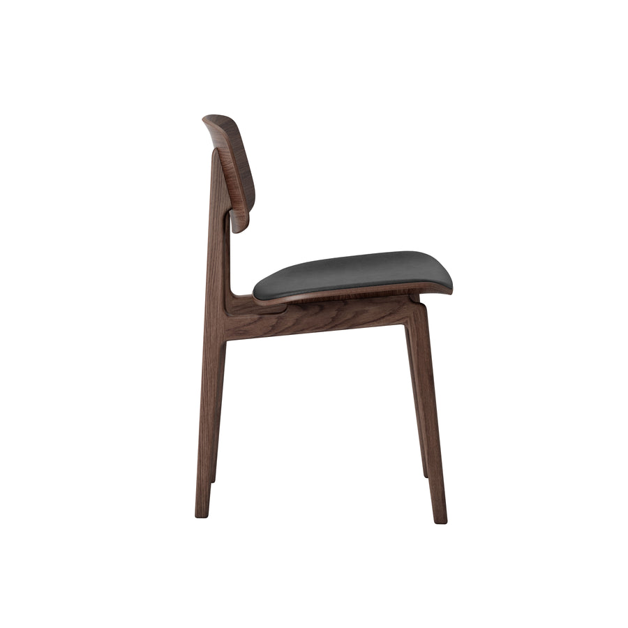 Norr11 Denmark, NY11 Dining Chair Dark Stained Oak, profile | Spencer Interiors