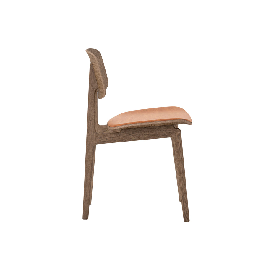 Norr11 Denmark, NY11 Dining Chair Smoked Oak, profile | Spencer Interiors