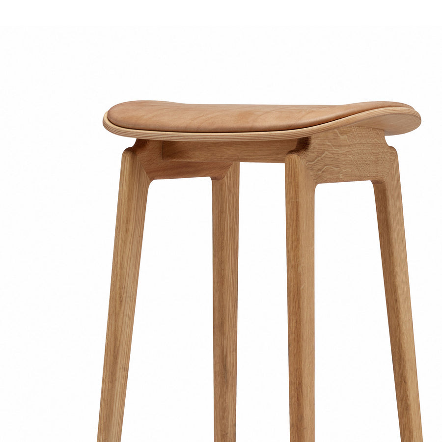 Norr11 NY11 Stool in Smoked Oak, detail | Spencer Interiors