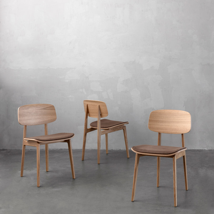 Norr11 Denmark, NY11 Dining Chairs, ambient  industrial | Spencer Interiors