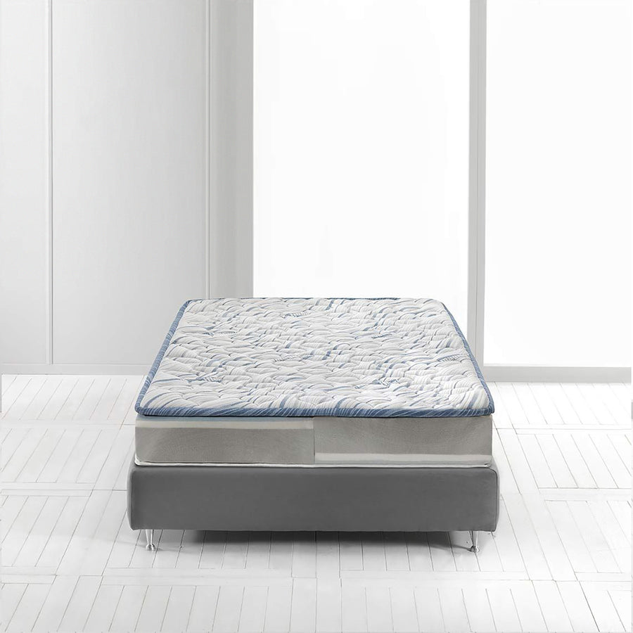 Magniflex New Magnigel Dual 10, Medium Soft/Medium Firm Mattress, foam layers