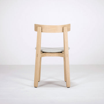 Gazzda Nora Chair in solid Oak, back