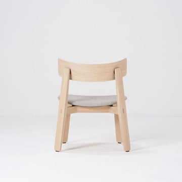 Gazzda Nora Lounge Chair in solid Oak