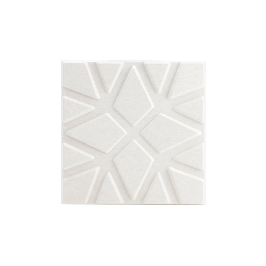 Soundwave Geo Acoustic Panel, Off White