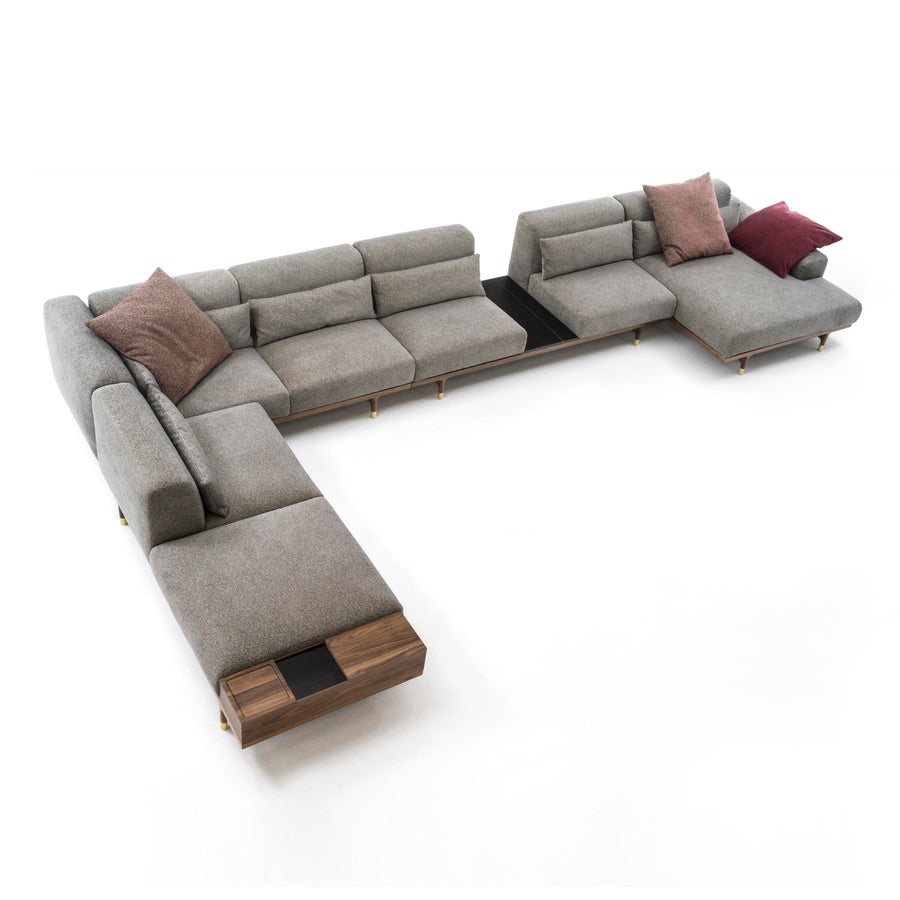 Porada Argo, Modern Seating System, Made in Italy | Spencer Interiors