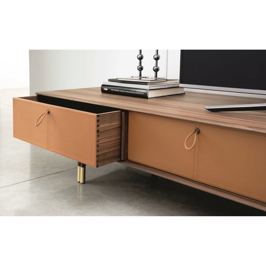 Porada Bayus TV Console with Drawers, detail
