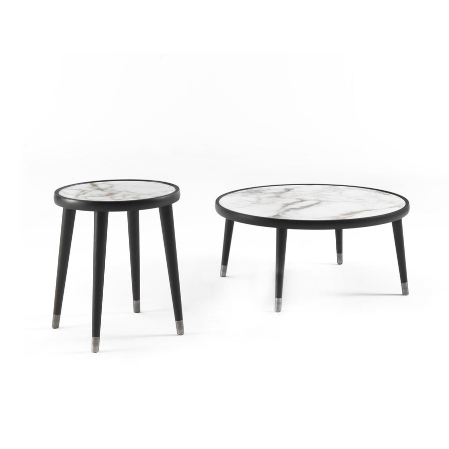 Porada Bigne Coffee Tables with Marble Tops | Spencer Interiors