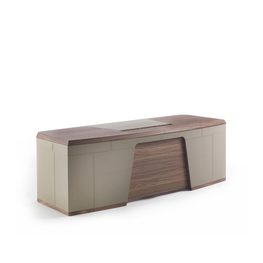 Porada Flavio Executive Desk, front