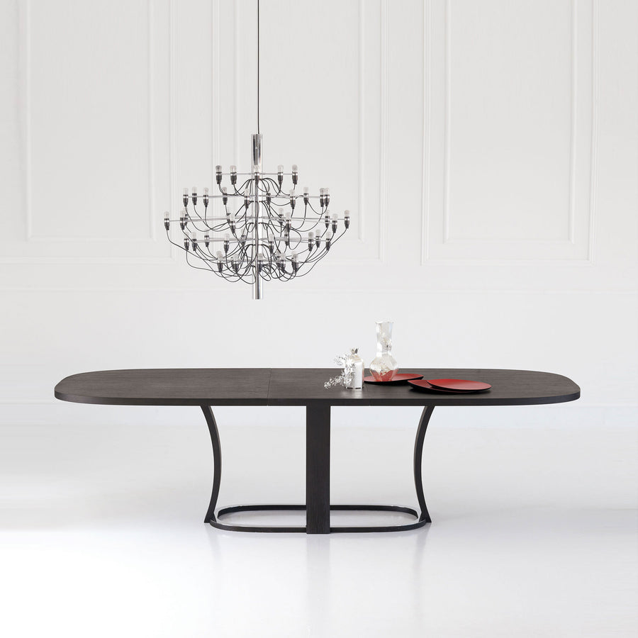 Potocco Grace Oval Extension Table ambient | Spencer Interiors