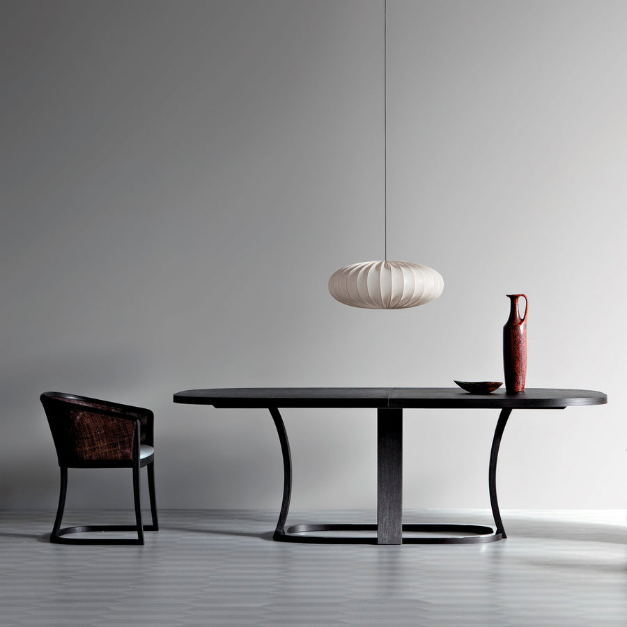 Potocco Grace Oval Extension Table in situ | Spencer Interiors