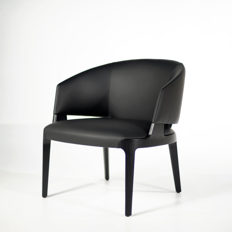 Potocco Velis Lounge Armchair 942/PLA, half turn | © Spencer Interiors