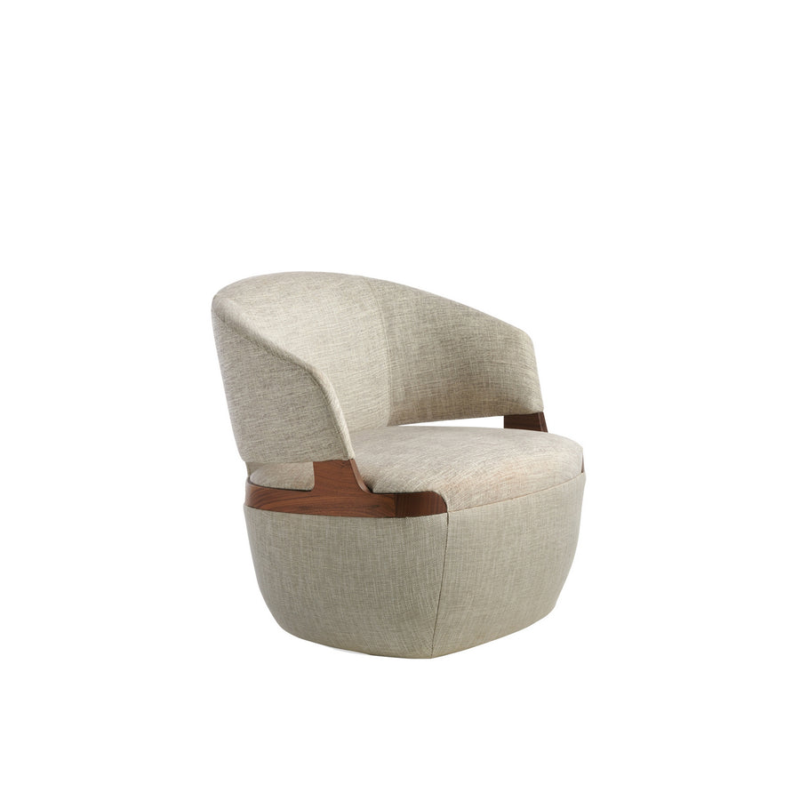 Potocco Velis Swivel Armchair 942/PLAG | Spencer Interiors
