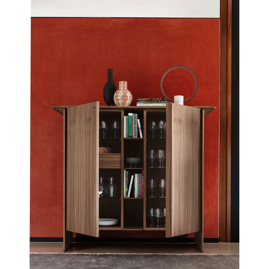 Porada Tamok Cabinet with Marble Top, ambient 2