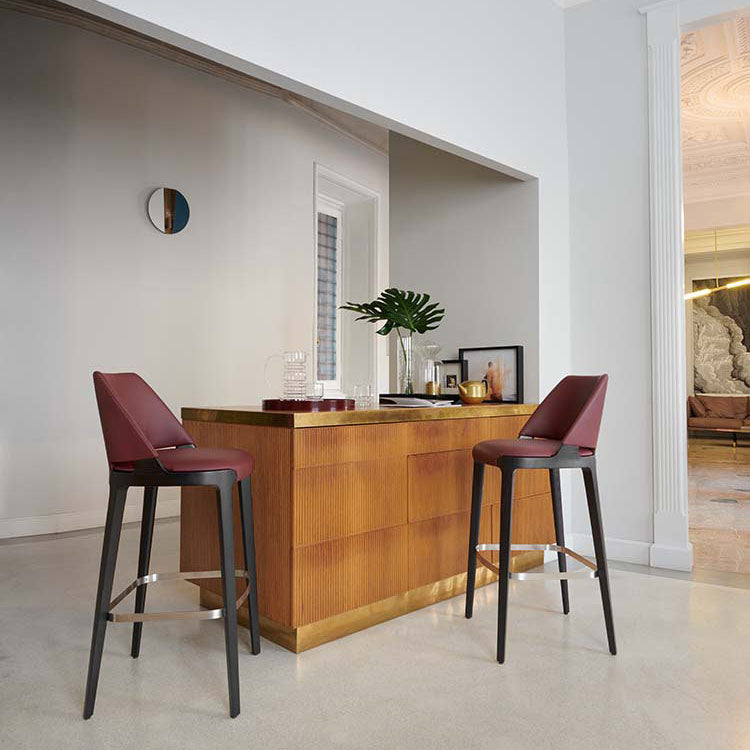 Potocco Velis Bar Stools, ambient | Spencer Interiors