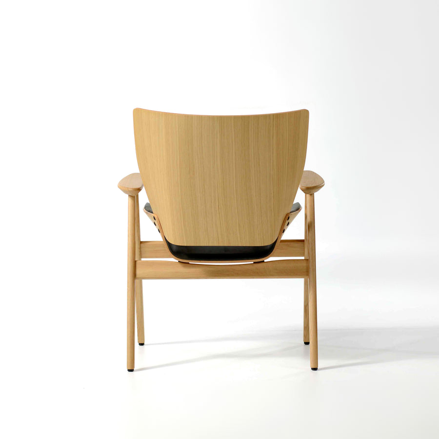 Rex Shell Wood Lounge Armchair