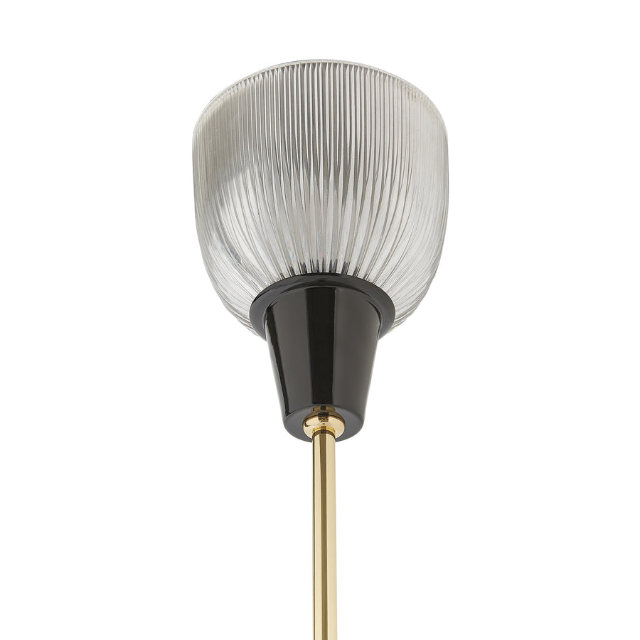 Tato Italia, Coppa Aperta Floor Lamp, glass shade detail