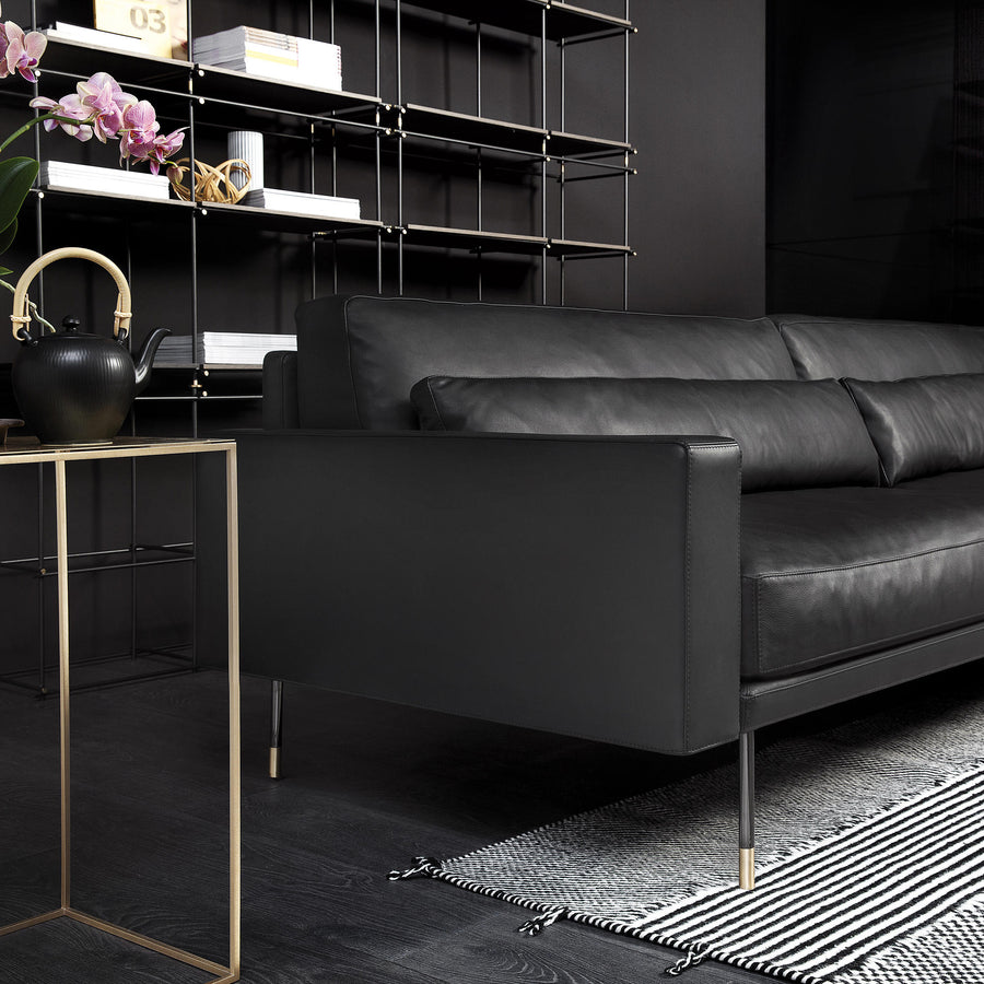 VIbieffe 110 Modern Sofa - arm detail, Made in Italy - Spencer Interiors