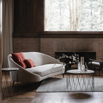 Vibieffe Nido Curved Sofa - made in Italy - Spencer Interiors