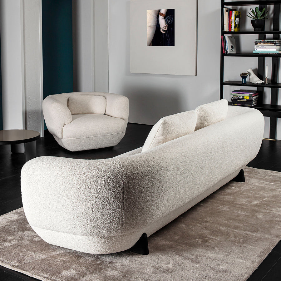 VIbieffe Confident Sofa , back - Made in Italy