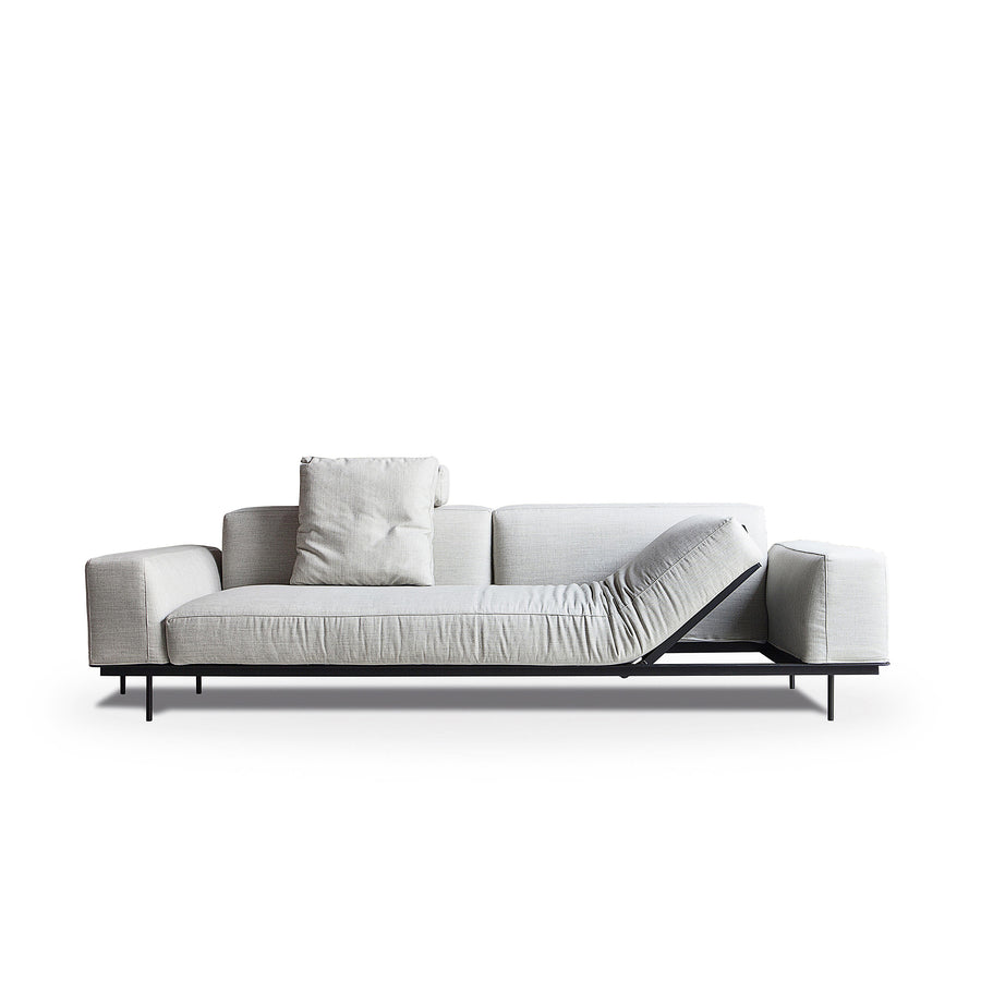Vibieffe Sit Up Reclining Sofa, made in Italy - Spencer Interiors