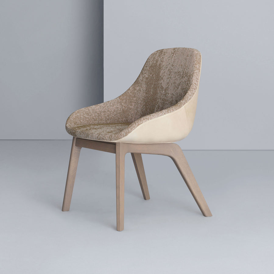 Zeitraum Morph Dining Chair, stained Oak
