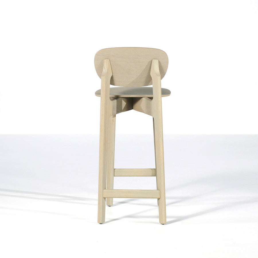 Zenso Stool, Wood