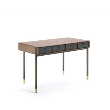 Poarada Eley Desk in Walnut