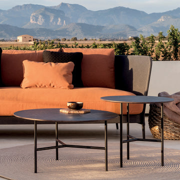 Grada Outdoor Low Tables, Dekton® Top