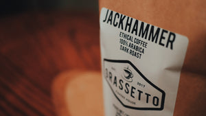 JACKHAMMER - Dark Roast Ethical Coffee