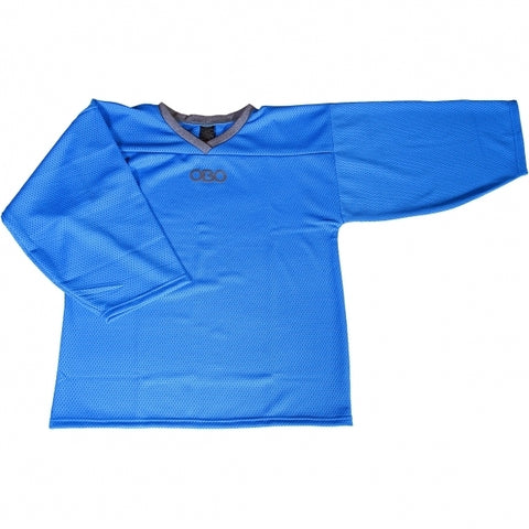 OBO LONG SLEEVE LOOSE SMOCK BLUE