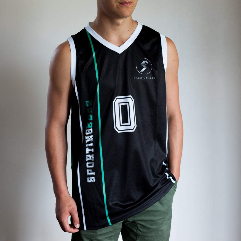 SPORTING EDGE CASUAL BASKETBALL SINGLET