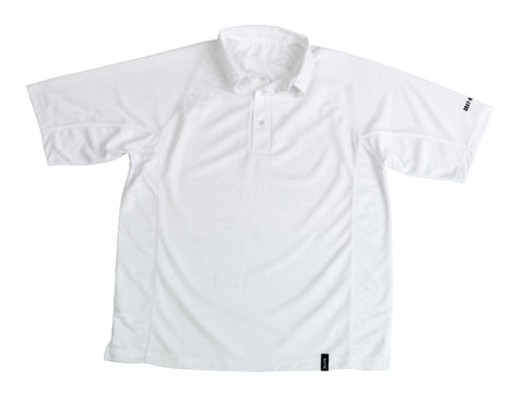 GRAY NICOLLS ELITE SHORT SLEEVE SHIRT WHITE