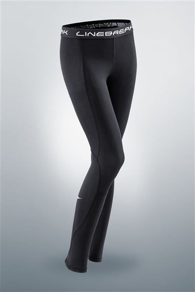 LINEBREAK WOMENS PERFORMANCE TIGHTS - BLACK