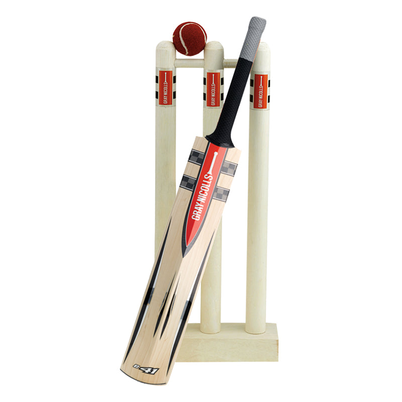 MINI BAT, STUMPS & BALL SET