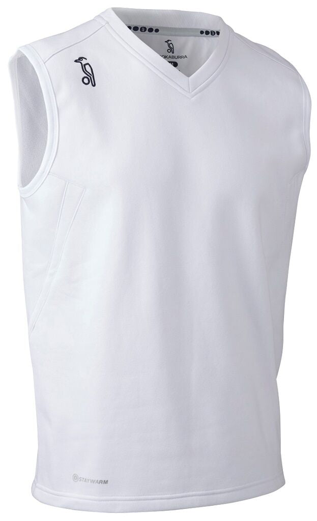 KOOKABURRA KB PLAYERS SLEEVELESS JUMPER
