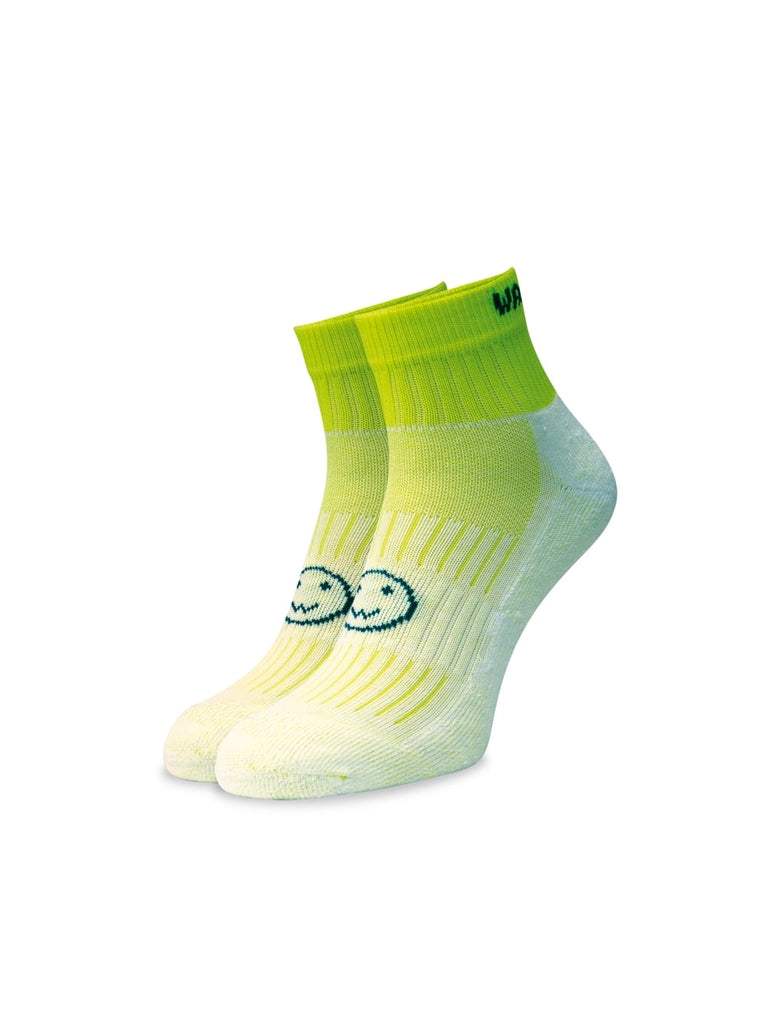 WACKY SOX ANKLE FLURO GREEN