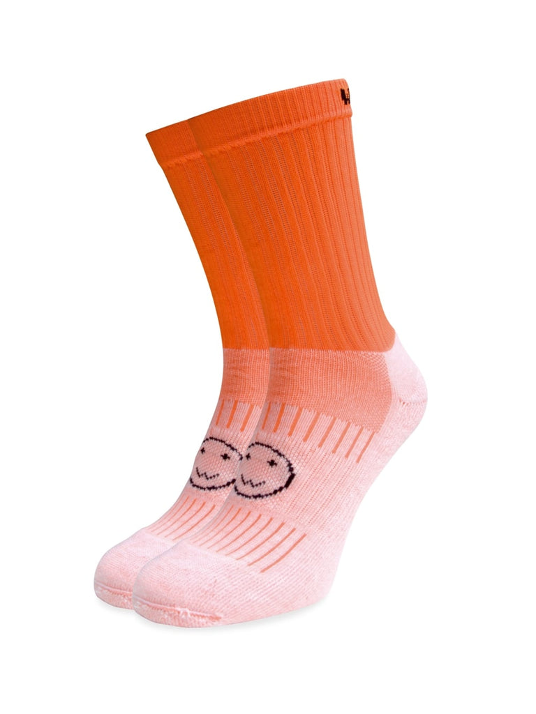 WACKY SOX CALF FLUORO ORANGE