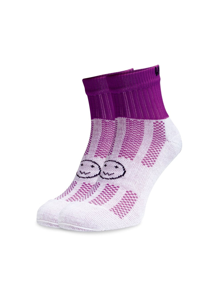 WACKY SOX ANKLE PURPLE