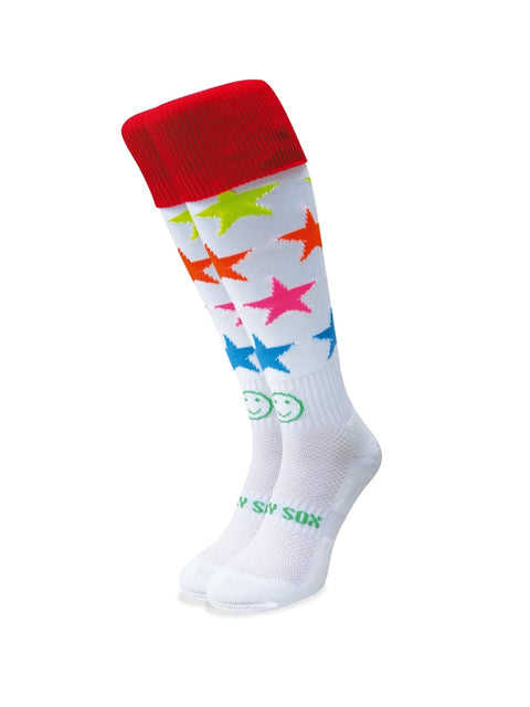 WACKY SOX STARS IN YOUR EYES