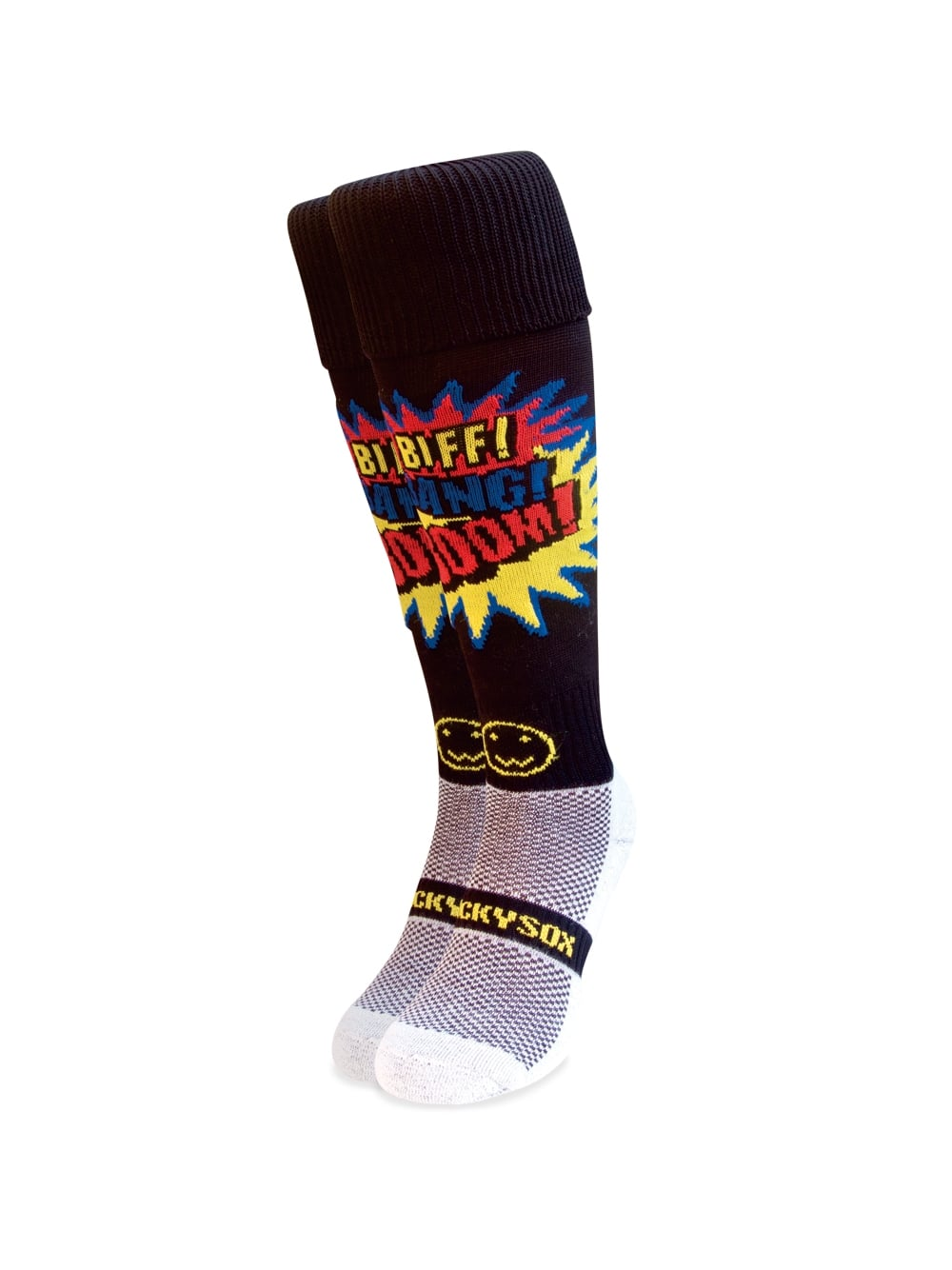 WACKY SOX BIFF BANG BOOM BLACK